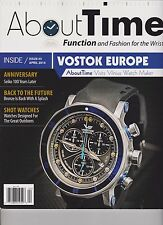 ABOUT TIME MAGAZINE #5 APRIL 2014, FUNCTION AND FASHION FOR THE WRIST.