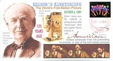 COVERSCAPE computer designed 125th anniversary of Edison first movie event cover