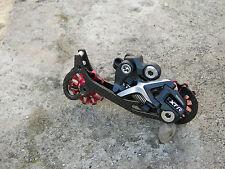 Shimano Deore XTR rd-m972 Shadow desviador top! 182g! Carbon