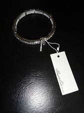 KENNETH COLE NEW YORK~Women's SILVER TONE~Crystals Pave BRACELET~K07221-B01