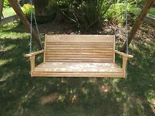 Wood Tree Swings Cypress Porch Tree Swing ,for the Big Guys BGY2015