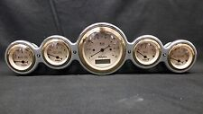 5 GAUGE HOT ROD DASH CLUSTER GOLD