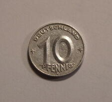 10 Pfennig Pfenning DDR 1953E TOP Zustand !!  (C2)