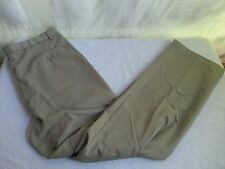 Men's Dockers Premium Golf Pants size 36X32 FLAT FRONT, RELAXED FIT