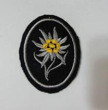 WWI WW2 German Elite Edelweiss patch w RZM tag