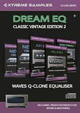 Xtreme samples Dream eq Classic Vintage edition 2 (waves Q-clone library)