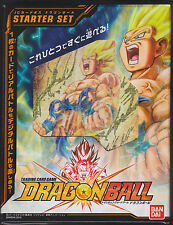 IC Carddass Dragon Ball Part 1 Starter Deck ST01 Sealed Japanese