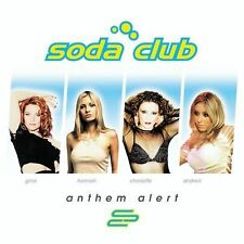 Soda Club - Anthem Alert  (CD, Jul-2004, Water Music Records) + DVD