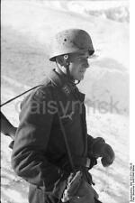 German Army Sergeant  Italy Nord Snow 1943 World War 2 Reprint Photo 6x4 Inch