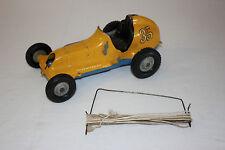 Vintage Roy Cox Thimble Drome Champion Tether Race Car #35 Original VG Must L@@K