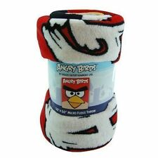 "Blanket 50""x60"" Rovio Angry Birds Micro Fleece Throw NIP"