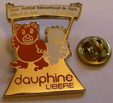 2e Festival international pin's VILLARD de LANS STARPIN'S Dauphiné Libéré