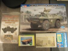 ENSEMBLE M706 COMMANDO ARMORED CAR VIETNAM + ROUES + DECALS + PHOTODECOUPE 1/35
