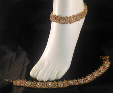 Golden Anklet/Payal,Stunning Fashion jewellery,Bollywood style,SV23-506