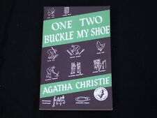 One Two Buckle My shoe - Agatha Christie - Book