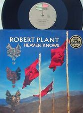 Robert Plant ORIG OZ PS 12 Heaven knows EX '88 Led Zeppelin Hard Rock