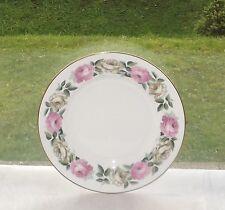 Royal Worcester Royal Garden No Inner Ring Pink & White Rose Dessert Plate 20cm