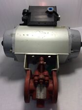 "1"" ChemValve 790EB-150 With ACTUATOR And VRC POSITIONER VE9CO-G"