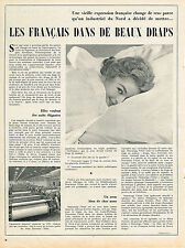 PUBLICITE  1954    DESCAMPS L'AINE   draps