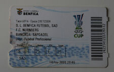 old TICKET UEFA Benfica Lisboa Portugal FC Nurnberg Germany