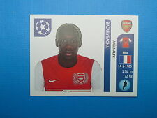 Panini Champions League 2011-12 n.350 Sagna Arsenal