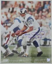 "Roman Gabriel Inscribed ""1969 NFL MVP"" Color 16x20 Autographed Photo MLI/COA (60"