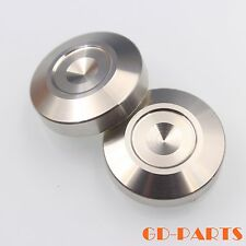29x8mm Stainless Steel Turntable Speaker DAC AMP Isolation Spike Pad DISC Base*4