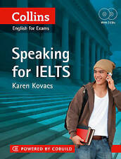 NEW Collins Speaking For IELTS by Karen E. Kovacs with 2 CD's