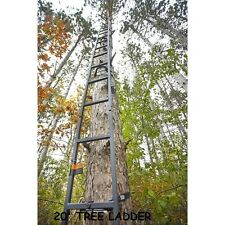 20' Tree Ladder Deer Outdoor Bow Hunting Climbing Stick Treestand Crossbow NEW