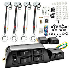 4 Car Window Power Kit For Honda Accord Civic del Sol CR-V CRX Fit Prelude