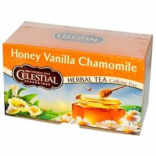 Celestial Seasonings Honey Vanilla Chamomile Tea 20 Bag Box