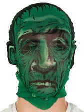 Frankenstein Monster Mask Stocking Hood Halloween New Costume Prop Creepy