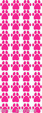40 PAW PRINT STICKERS Hot Pink Car Wall Stickers Decals Graphics Cat Dog