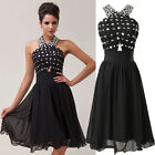 Formal Homecoming Wedding Short Evening Ball Gown Party Prom Bridesmaid Dress