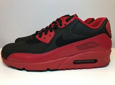Nike Air Max 90 Winter Premium Trainers Size UK 9 EUR 44 Red Black 683282 606
