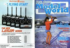 RADIO CONTROL MODEL WORLD MAGAZINE 1987 MAR SLINGSBY SKYLARK, TOWRAG TUG DESIGN