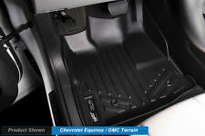 MAXFLOORMAT All Weather Custom Fit Floor Mats Liner for EQUINOX / TERRAIN Black