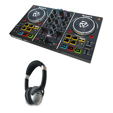 Numark Party Mix DJ Controller w/ Virtual DJ LE Software & HF125 DJ Headphones