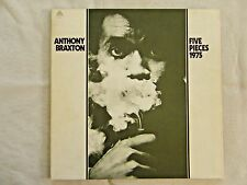 Anthony Braxton Five Pieces 1975 Kenny Wheeler Dave Holland Barry Altshul NM