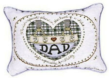 DAD Throw Pillow There's A Special Place In The Heart Of A Child Left For Daddy