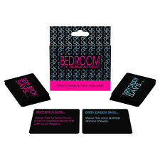 BEDROOM COMMANDS! CARD GAME ADULT FUN NAUGHTY GIFT Sex Aid