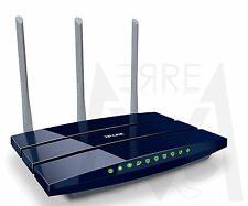 TP-LINK Router Gigabit Wireless N 300Mbps TL-WR1043ND WiFi PORTA USB x Hard Disk