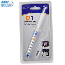 PcCooler A1 High Quality Platinum Thermal Grease Paste 7.5 W/m-k - 2g & Spreader