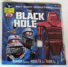 "Walt Disney - THE BLACK HOLE - 45gg 7"" NUOVO SEALED Booklet"