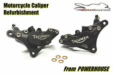 Triumph Sprint 955i ST front brake caliper refurbishment service 2002 2003 2004