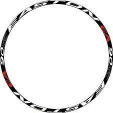 EA 90XC MTB Rim Wheel Decal Sticker Replacemen tKIT For 26/27.5/29ER 2 RIMS