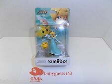 Rosalina & Luma amiibo Figure First Print USA Edition | NiB Rare Mint Condition