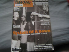 Kerrang! 859 (Jun 30 2001) System Of A Down, Staind, Alien Ant Farm, OPM