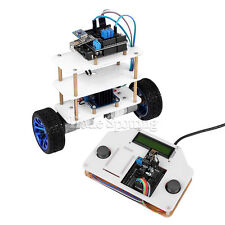 InstaBots V2.0 LCD1602 2 Wheels Self-Balancing Robot Car Kit UNO R3 for Arduino
