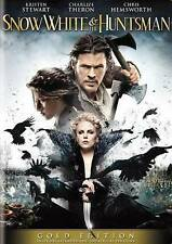 Snow White and the Huntsman (DVD, 2016, 2-Disc Set, Gold Edition)